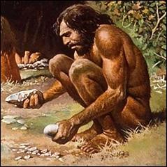 Durant quelle période les premiers hommes sont-ils apparus ?