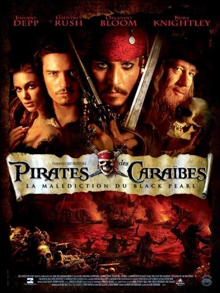 En quelle année le film  Pirates des Caraïbes : La malédiction du Black Pearl  est-il sorti dans les salles ?