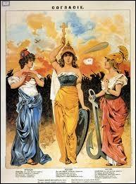 En 1914, le mécanisme des alliances militaires transforma l'Europe en champ de bataille. La  Triple Entente  était formée de :