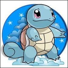 Carapuce est un Pokémon de type...