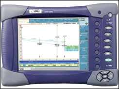 Avec quel appareil mesure-t-on la distance d'une fibre optique ?