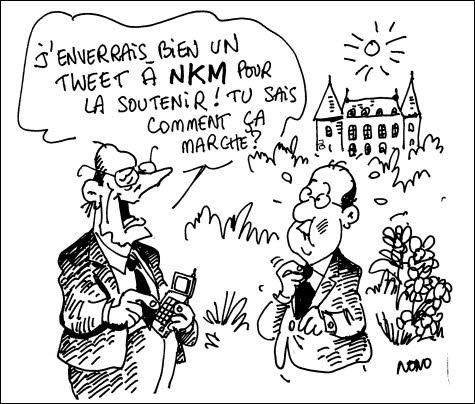 Le Salon international de l'agriculture s'est transformé en bal des prétendants ! Après la visite de Nicolas Sarkozy, qui fit ses pas de danse le 26 février 2012 ? (Il créa un parti en 2007).