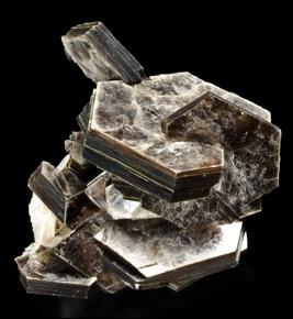 Minéral constitué de cristaux tabulaires dont les feuillets sont flexibles et élastiques, ayant un clivage parfait, je suis :
