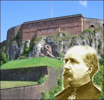 Grâce à ses fortifications, Belfort soutint victorieusement de nombreux sièges. Quel militaire avec sa garnison, résista pendant plus de 100 jours aux prussiens en 1870 ?