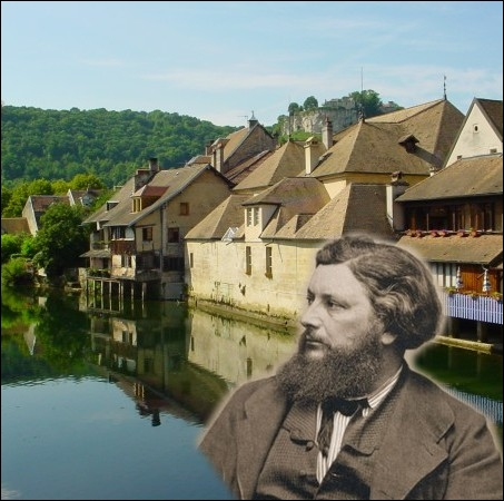 Cette ville du Doubs est connue pour ses représentations en peinture de Gustave Courbet, qui y est né en 1819 ... .