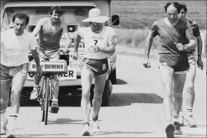 Roger Quemener est un marcheur de grand fond, qui remporta sept fois la course  Paris-Colmar . Créée en 1926, comment cette course s'appelait-elle à l'origine ?
