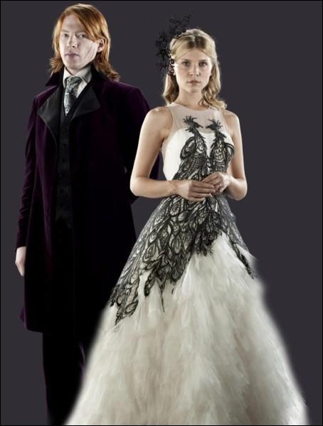 """Dans """"Harry Potter et les Reliques de la mort"""", où Bill Weasley et Fleur Delacour s'installent-ils après leur mariage ?"""