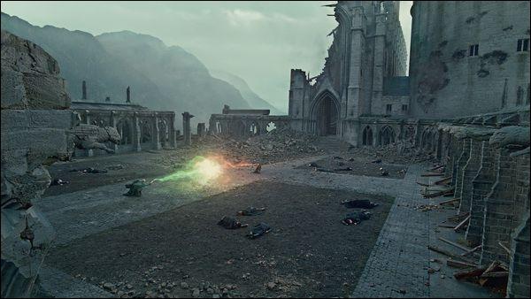 """Dans """"Harry Potter et les Reliques de la mort"""", avec quel sort Harry Potter riposte-t-il contre Lord Voldemort lors du duel final ?"""
