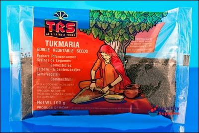 Boisson exotique rafraîchissante, laiteuse de belle couleur verte, à base d'agar agar, sucre, à quoi vous ajoutez des graines de tukmaria. Elle vous attend au coeur des Mascareignes. Où ?