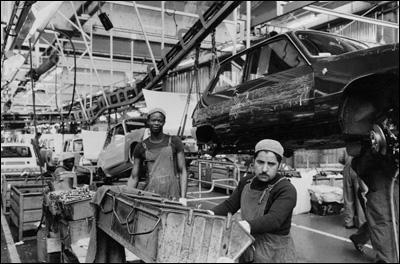 Parmi ces évolutions du marché du travail dans les années 50-70, l'une est fausse ; laquelle ?