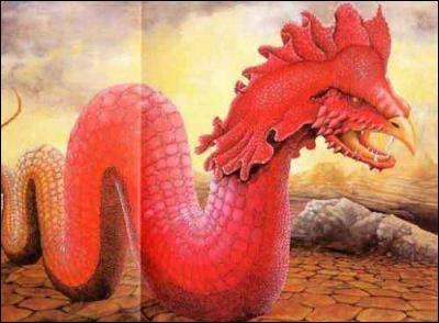 Le basilic est un reptile capable de tuer grâce à...