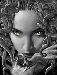 Méduse avait une chevelure de serpents et le regard pétrifiant. C'était une des trois...