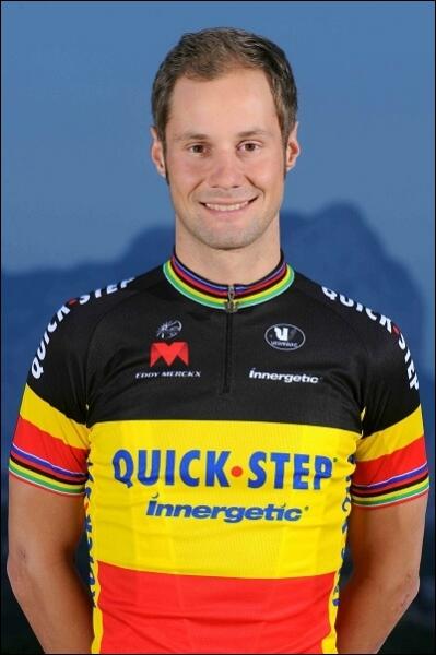 Vainqueur de Paris Roubaix, Tour des flandres, du Gp E3, et de Gand Wevelgem en 2012, je suis ... ... ... . .