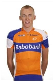 Grand espoir néerlandais depuis 2007, ce coureur a remporté le tour d'Oman 2011, et de Californie 2012. Par contre, il a plus de problème sur les grands tours. Qui est-ce ?