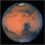 Une planète composée d'oxyde de fer . . connue pour sa couleur rouge :
