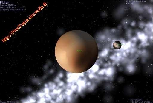 Considérée comme étant une planète naine depuis 2006 :