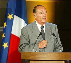 Parmi ces personnes qui n'a pas été Premier ministre de Jacques Chirac ?
