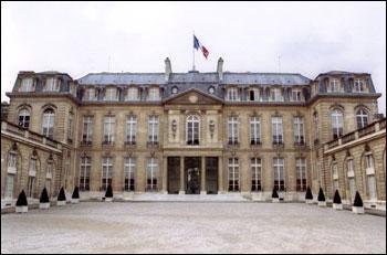 Quel pouvoir du président de la République est faux (photo : palais de l'Élysée)