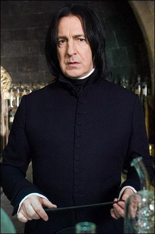 Qui interprète Severus Rogue lorsqu'il est adulte ?