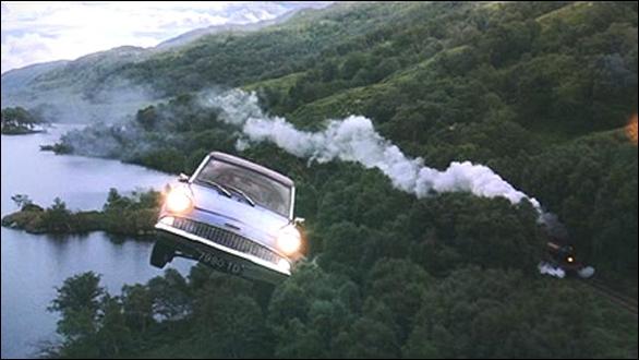 Quelle est la marque de la voiture volante ?