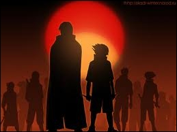 Jusqu'à l'épisode 599 du scan, combien de membres du clan Uchiwa reste-t-il ?