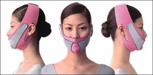 Si vous voyez votre voisine se promener avec ça sur la face, surtout ne paniquez pas. C'est tout à fait normal. Elle porte seulement la très élégante ...