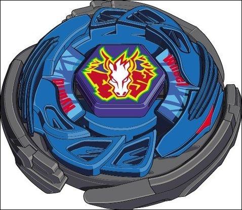 Quelle est la toupie du personnage principal de  Beyblade  ?