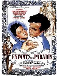 Les Enfants du paradis  , écrit par Prévert et interprété par Arletty et Jean-Louis Barrault, a été réalisé par Marcel Carné sous l'occupation ?