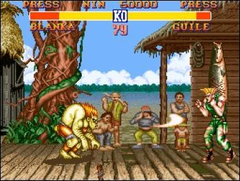 Ryu, Ken, Vega, bison... Cette image est tirée de quelle série ?