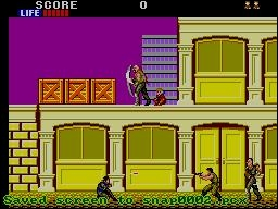 Fin 80 début des années 90, des ninjas on en voyait partout, séries, films etc ... Les jeux vidéos n'échappent pas à la règle, quel est ce jeu ?