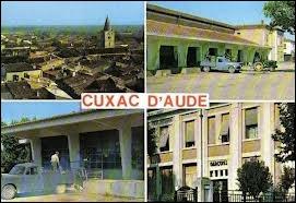 A Cuxac-d'Aude, les habitants portent le gentilé ...