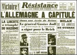 Quel est le jour du décès d'Hitler ? (Huit jours après, l'Allemagne capitulera. )