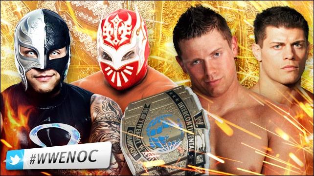 Rey Mysterio vs Sin Cara vs The Miz vs Cody Rhodes : qui est le vainqueur pour le championnat intercontinental ?