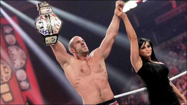 Antonio Cesaro vs Zack Ryder : qui est le vainqueur pour le championnat des Etats-Unis ?