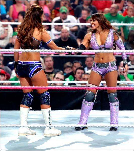 Layla vs Eve Torres : qui est la gagnante pour le championnat des Divas ?