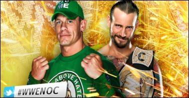 John Cena vs CM Punk : qui est le vainqueur pour le championnat de la WWE ?