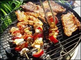 Le sel évite les flammes d'un barbecue ?