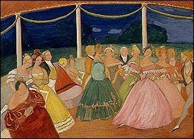 Garden party, 1907