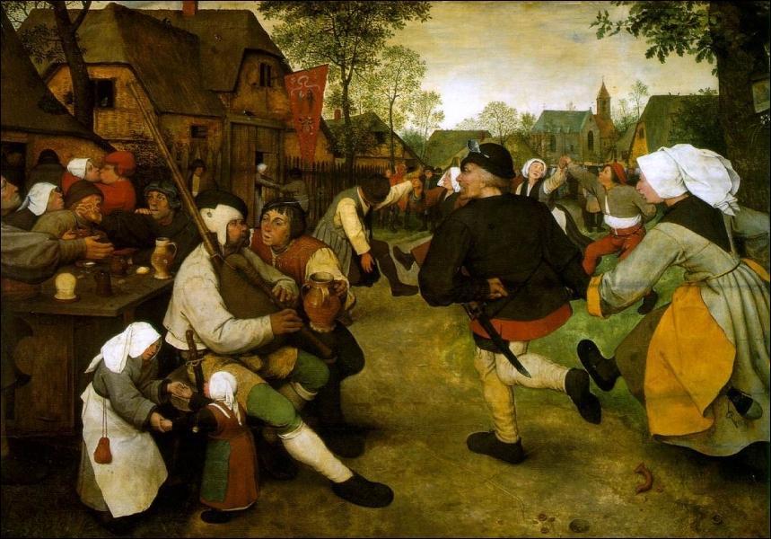 La Danse des Paysans, 1568