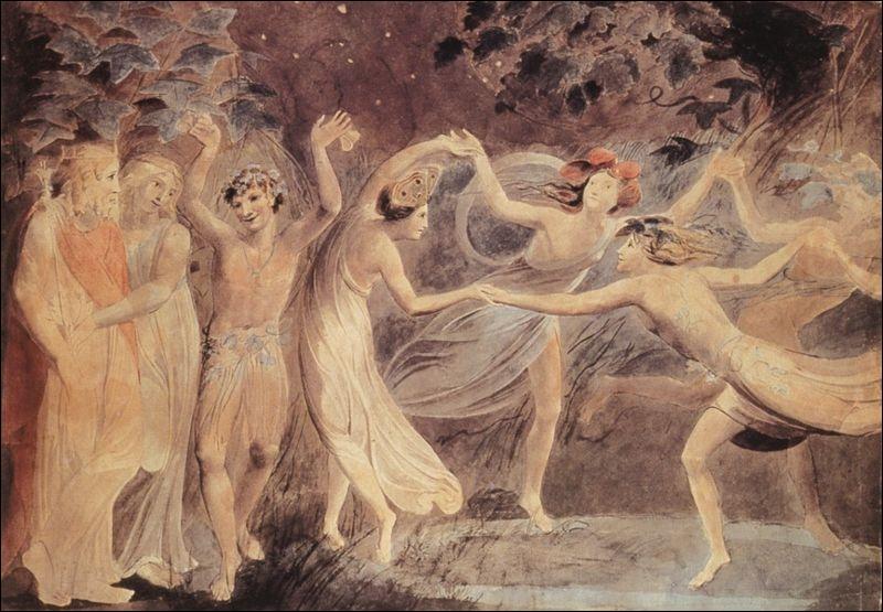 Oberon, Titania, Puck et les fées dansant, 1785