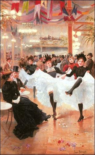 Cancan au Café de Paris