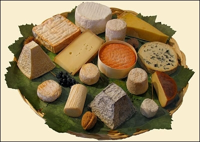 Lequel de ces fromages n'est pas français ?
