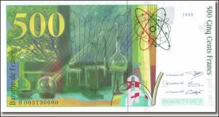 Quel artiste français a brulé un billet de 500 francs sur un plateau de télévision en 1984 ?