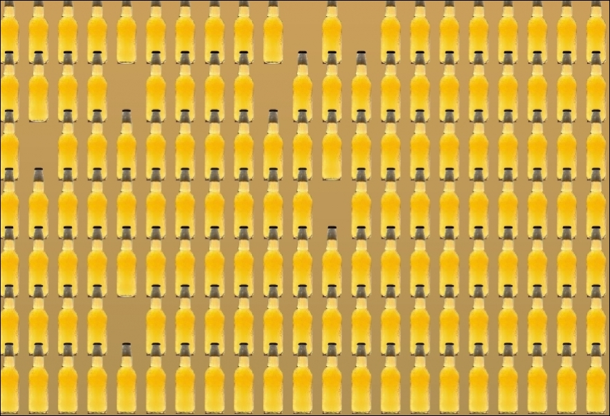 Combien de bouteilles de bière comptez-vous ?