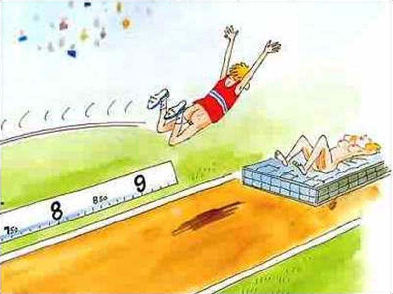 En 1976 Jacques Rousseau devient recordman de France de saut en longueur en réussissant un saut de :