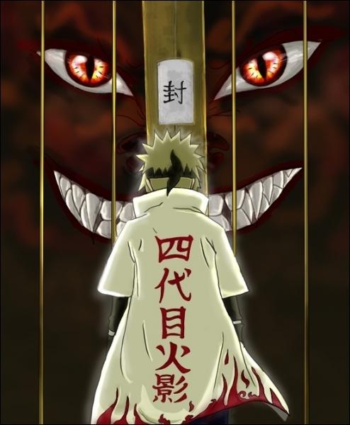 Décris la mort de Minato .