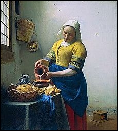 Qui a peint ce tableau intitulé  La laitière  ?