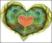 Où trouve-t-on le 1er fragment de cœur ?