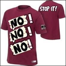 A qui appartient ce tee-shirt ?