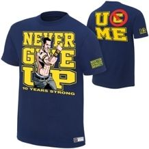 Tee-shirt des catcheurs de la WWE